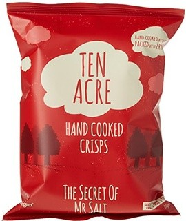 Ten Acre Ready Salted Crisps 18 x 40g (Gluten Free)