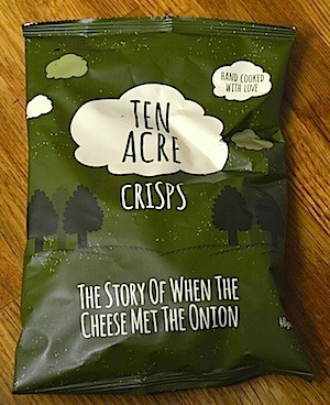 Ten Acre Cheese & Onion Crisps 24 x 40g (Gluten Free)