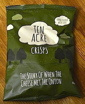 Ten Acre Cheese & Onion Crisps 24 x 40g (Gluten Free)