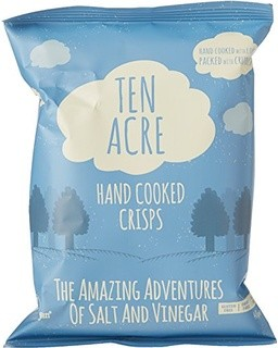Ten Acre Salt & Vinegar Crisps 24 x 40g (Gluten Free)