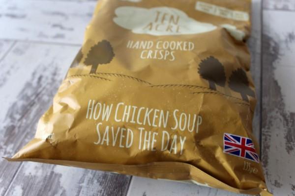 Ten Acre Chicken Soup Crisps 18 x 40g (Gluten Free)