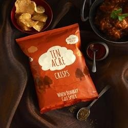 Ten Acre Bombay Spice Crisps 18 x 40g (Gluten Free)