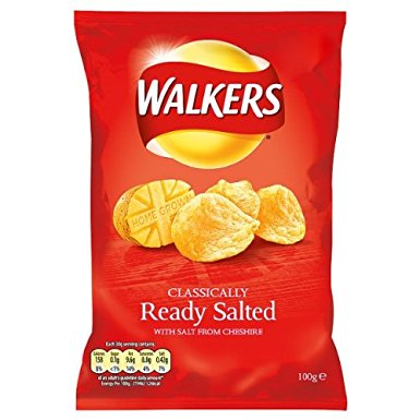 Walkers Ready Salted £1 12 x 90g