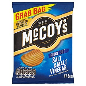 Mccoys Salt & Vinegar Crisps 36 x bag
