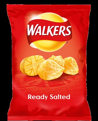 Walkers Ready Salted Crisps 6 x 175g