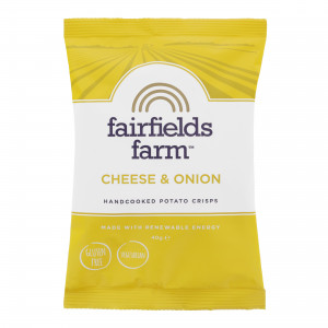 Fairfields Cheese & Onion Crisps 24 x 40g