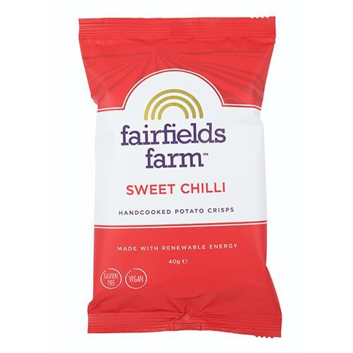 Fairfields Sweet Chilli Crisps 24 x 40g