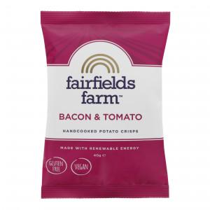Fairfields Bacon & Tomato Crisps 24 x 40g