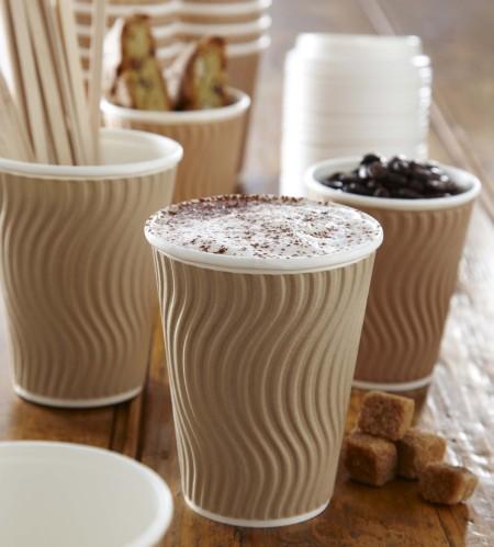 Ripple Walled Cups 12oz x25