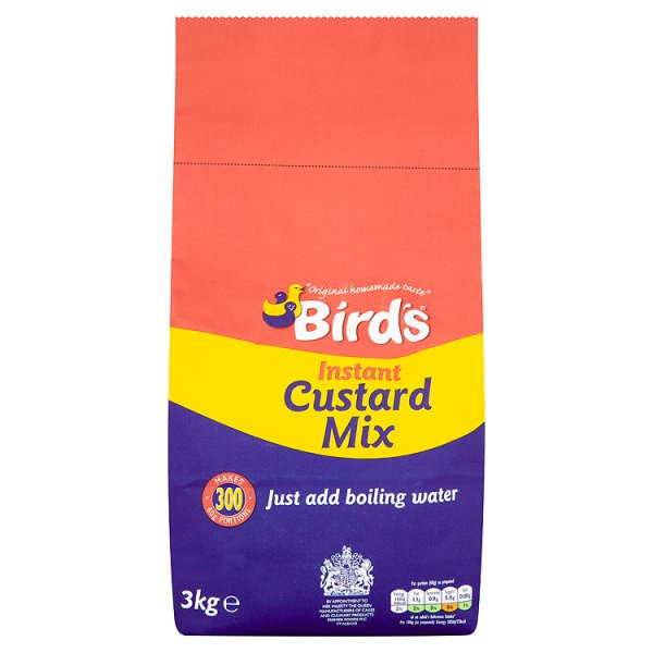 Birds Custard Mix (Add Water) 3kg