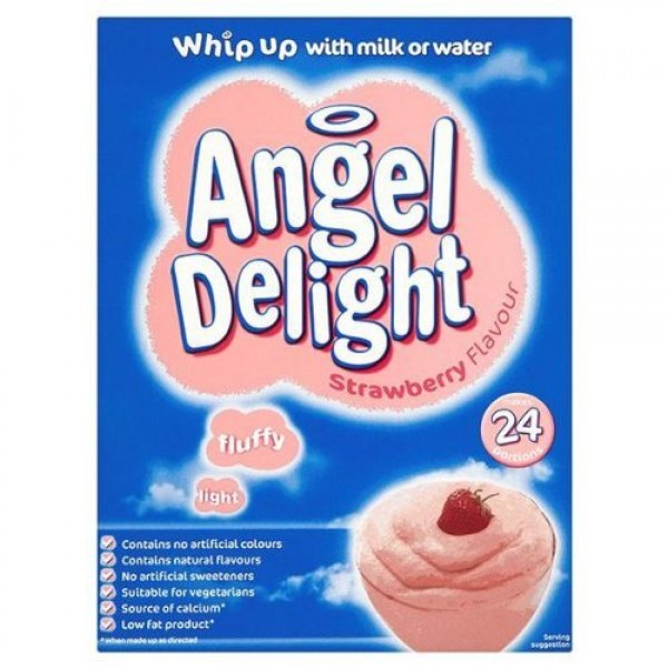 Angel Delight Strawberry 600g