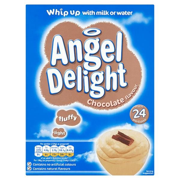Angel Delight Chocolate 600g