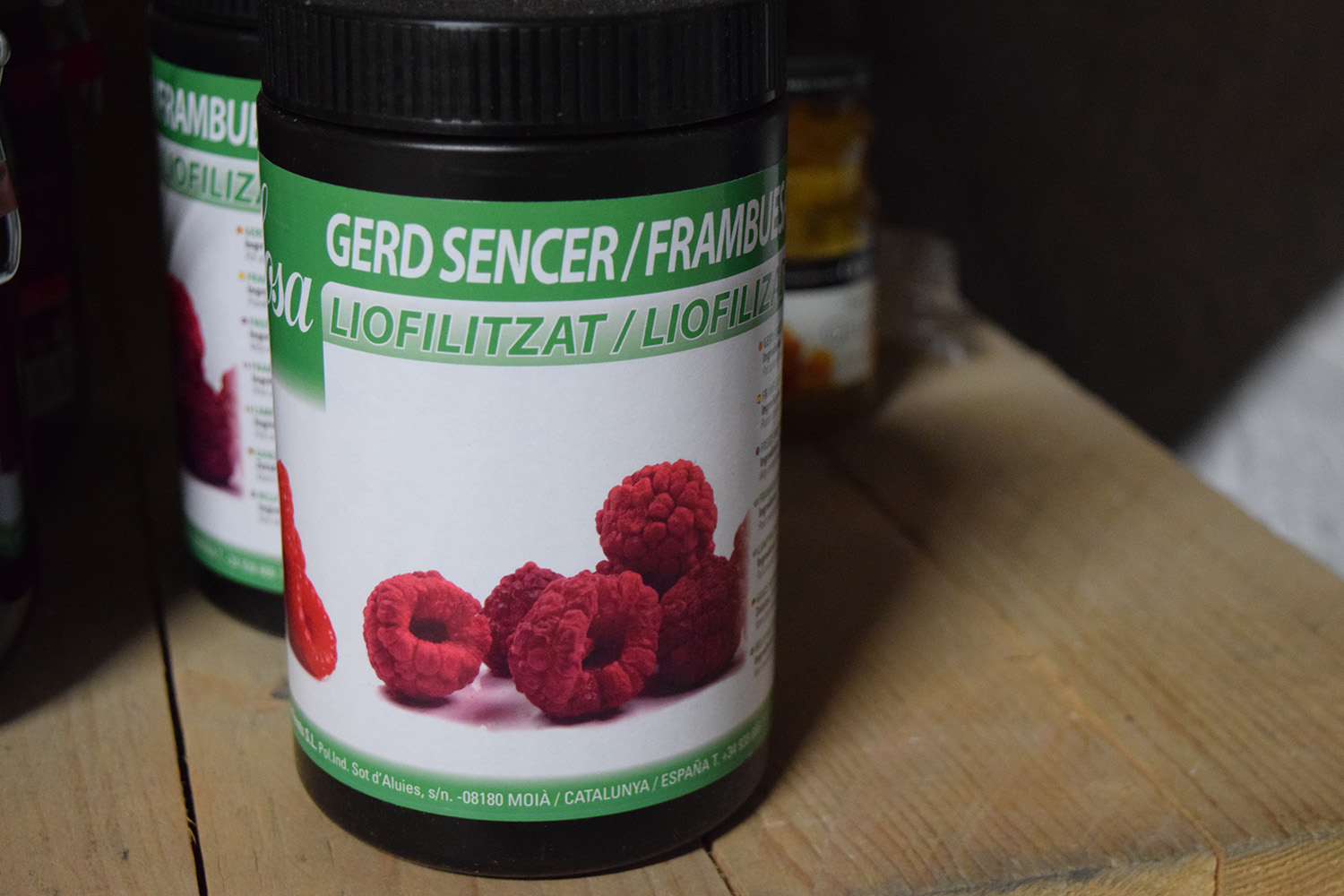 Sosa Freeze Dried Whole Raspberries 75g