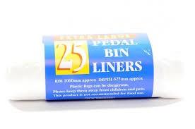 Pedal Bin Liners x25