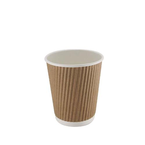Kraft Triple Walled Cup 8oz x 25