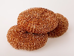 Copper Scourers x 25