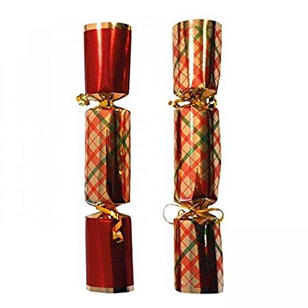 Tartan Christmas Crackers 12
