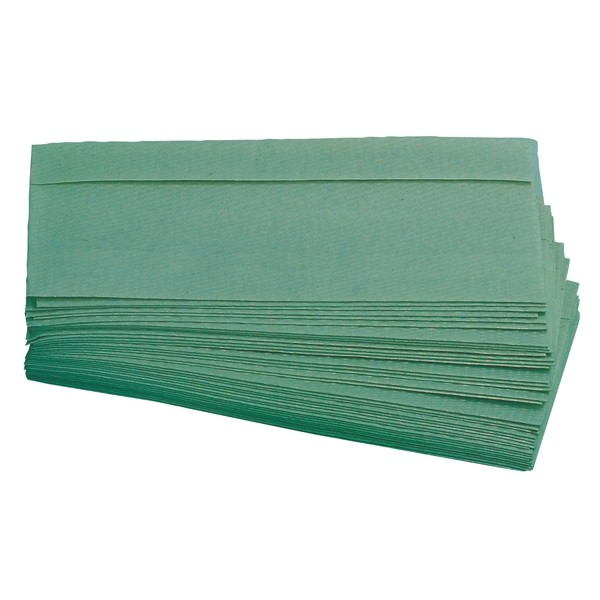 Green C Fold Hand Towels 1 Ply x2400