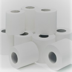 White Toilet Rolls 10 x 4 Pack
