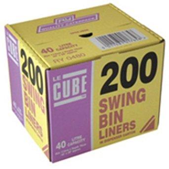 Le Cube Swing Bin Liners x200