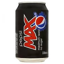 Pepsi Max Cans 24 x 330ml