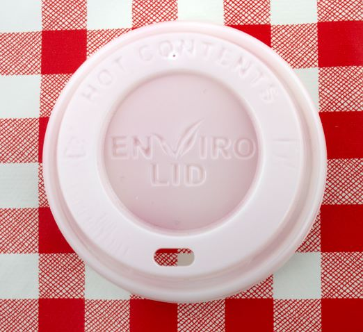 100% Compostable 12oz Coffee Lids x 100