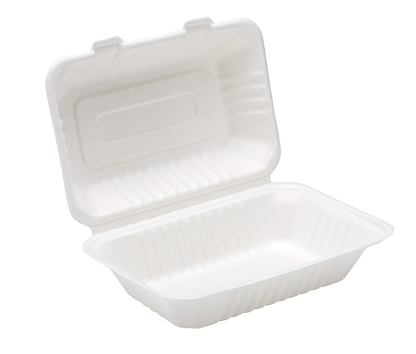 Dispo 9�� x 6�� Bagasse Lunch Box x 125