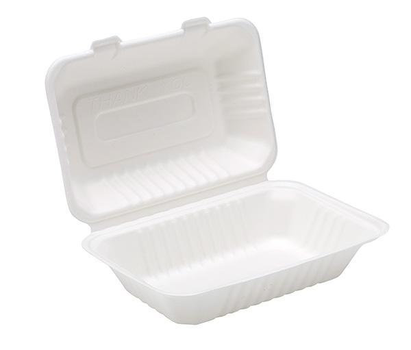 Dispo 9�� x 6�� Bagasse Lunch Box x 125