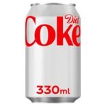 Diet Coke Cans 24 x 330ml