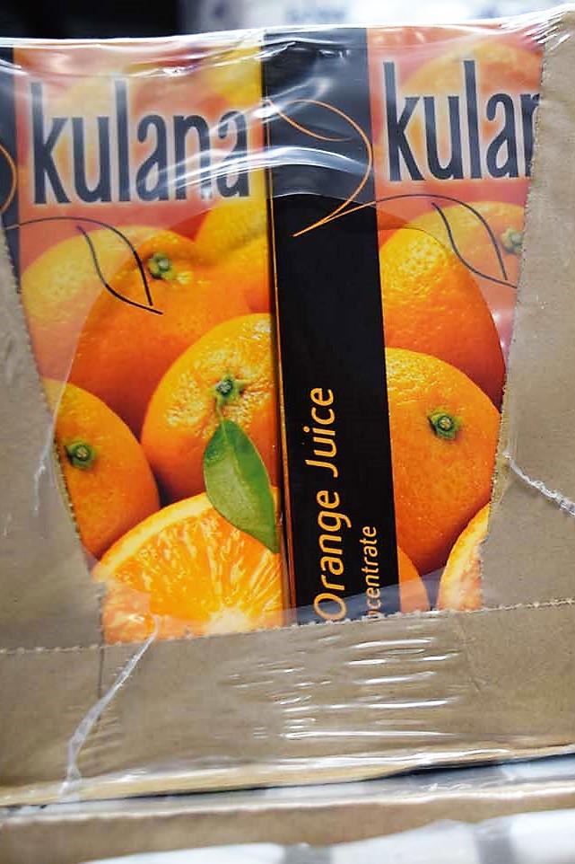 Orange Juice 12 x 1ltr