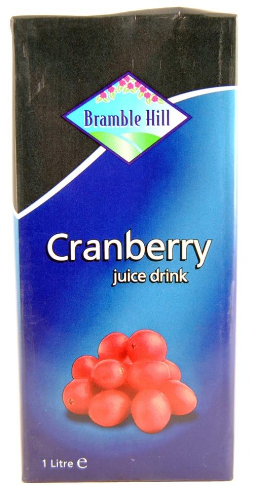 Bramble Hill Cranberry Juice 12 x 1ltr