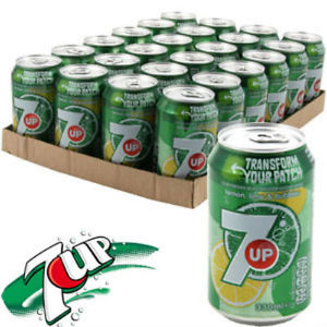 7 Up Cans 24 x 330ml