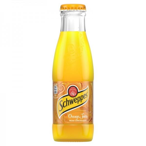 Schweppes Orange Juice 24 x 125ml
