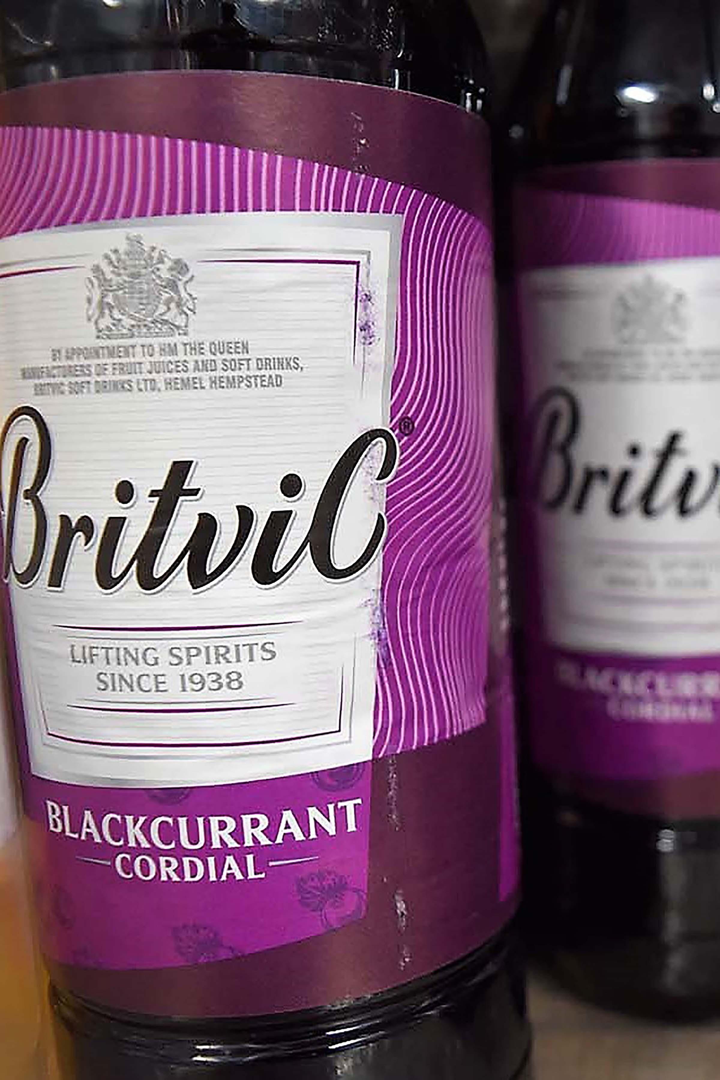 Britvic Blackcurrant Cordial ltr