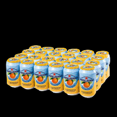 San Pellegrino Orange Cans 24 x 330ml
