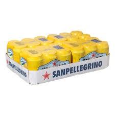 San Pellegrino Lemon Cans 24 x 330ml