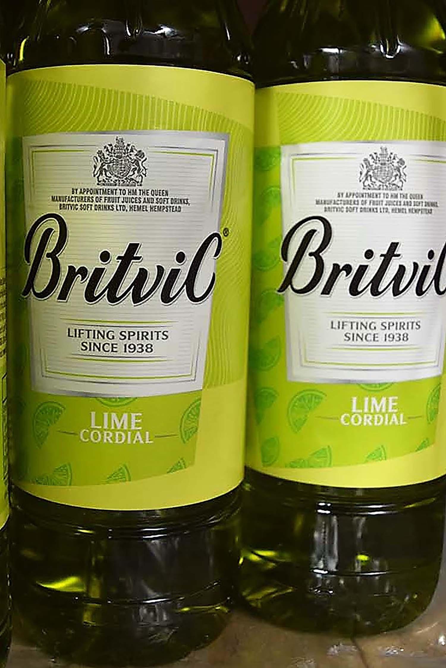 Britvic Lime Cordial 1ltr