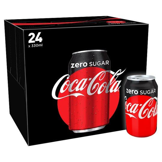 Coke Zero Cans 24 x 330ml