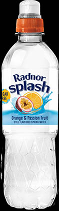 Radnor Splash Still Orange & Mandarin 24 x 500ml
