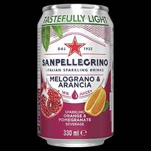 San Pellegrino Orange & Pomegranate 24 x 330ml