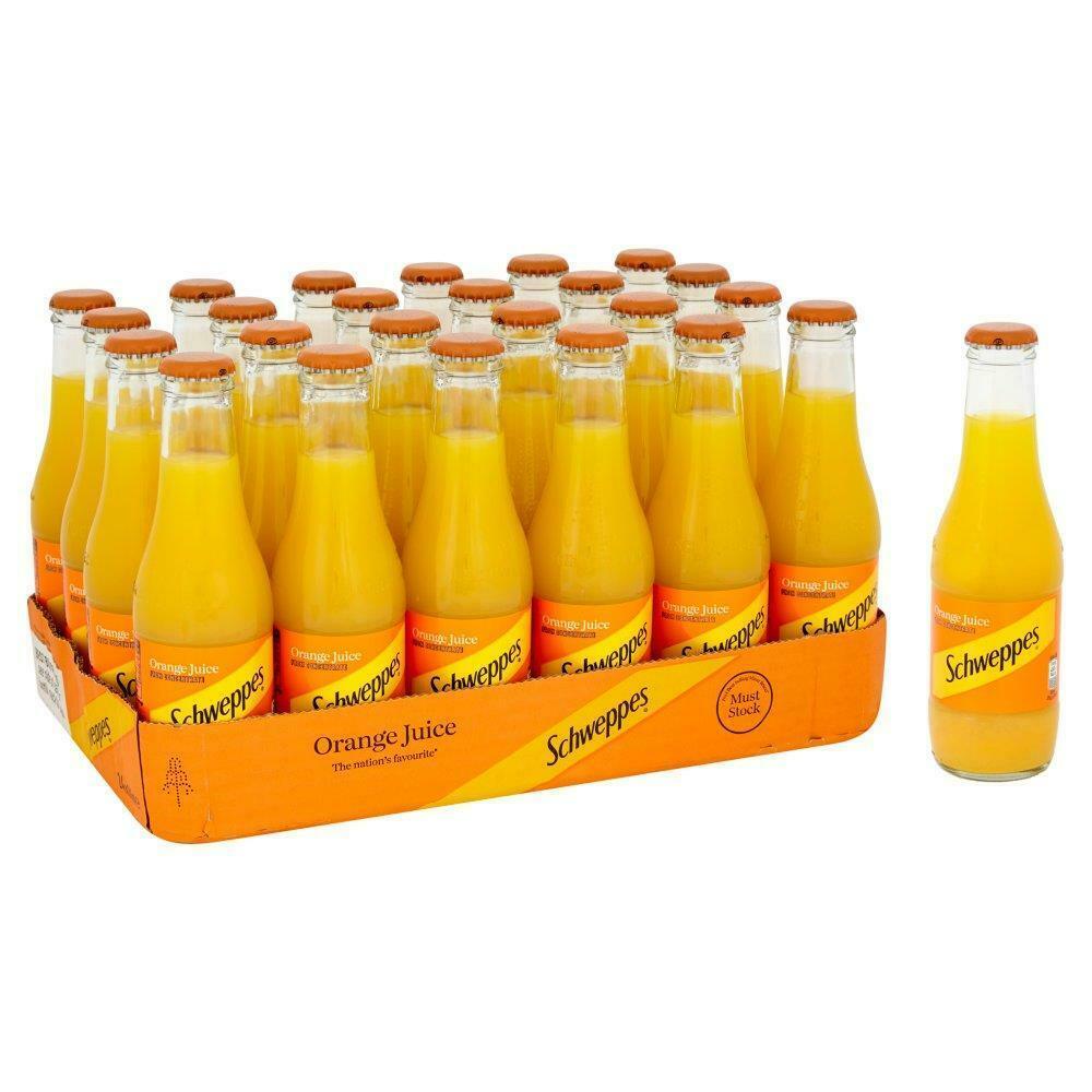 Schweppes Orange Juice 24 x 200ml