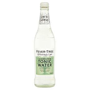 Fever Tree Light Elderflower Tonic Water 24 x 200ml