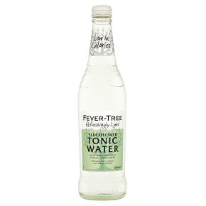 Fever Tree Light Elderflower Tonic Water 24 x 200ml
