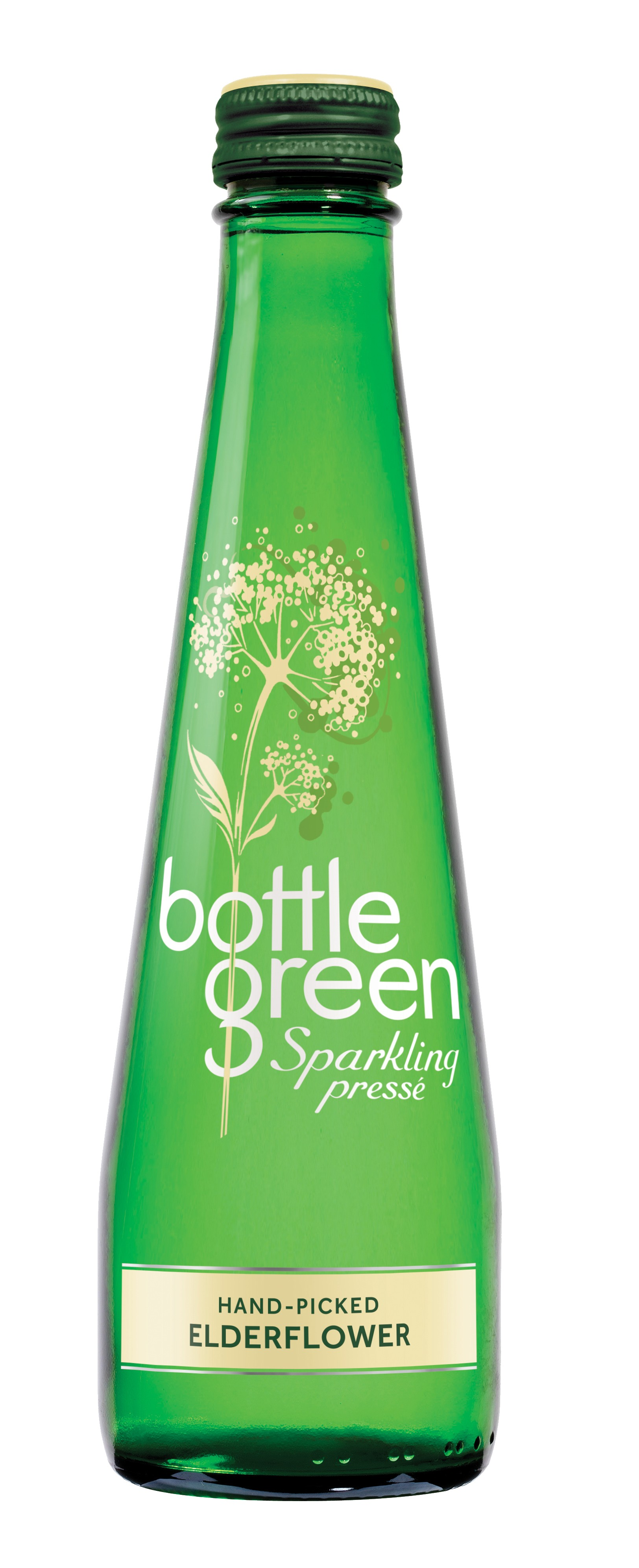 Bottle Green Elderflower Sparkling Presse 12 x 275ml