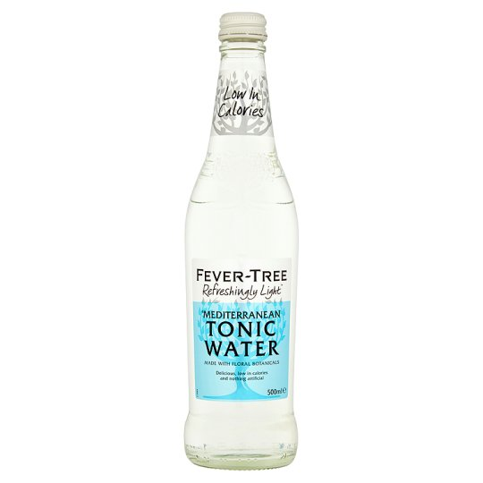 Fever Tree Light Mediterranean Tonic 24 x 200ml