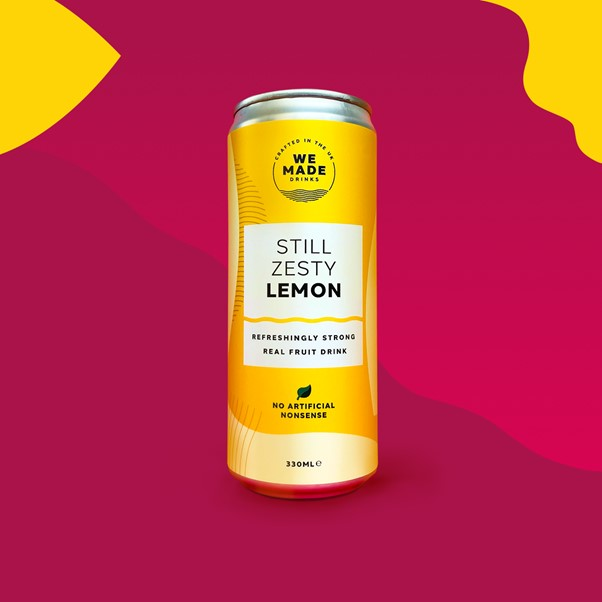 We Made Drinks Zesty Lemon Cans 12 x 330ml
