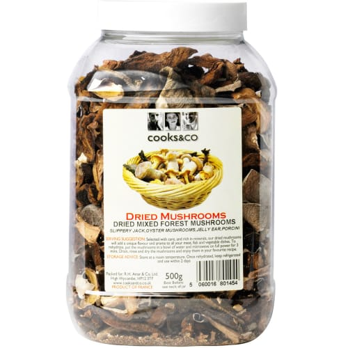 Cooks & Co Dried Mixed Forest Mushrooms 500g
