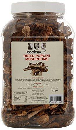 Cooks & Co Dried Porcini Mushrooms (Ceps) 500g
