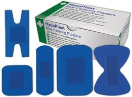 Assorted Blue Plasters 100