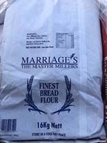 Marriages Breadwinner Strong White Bread Flour 16kg